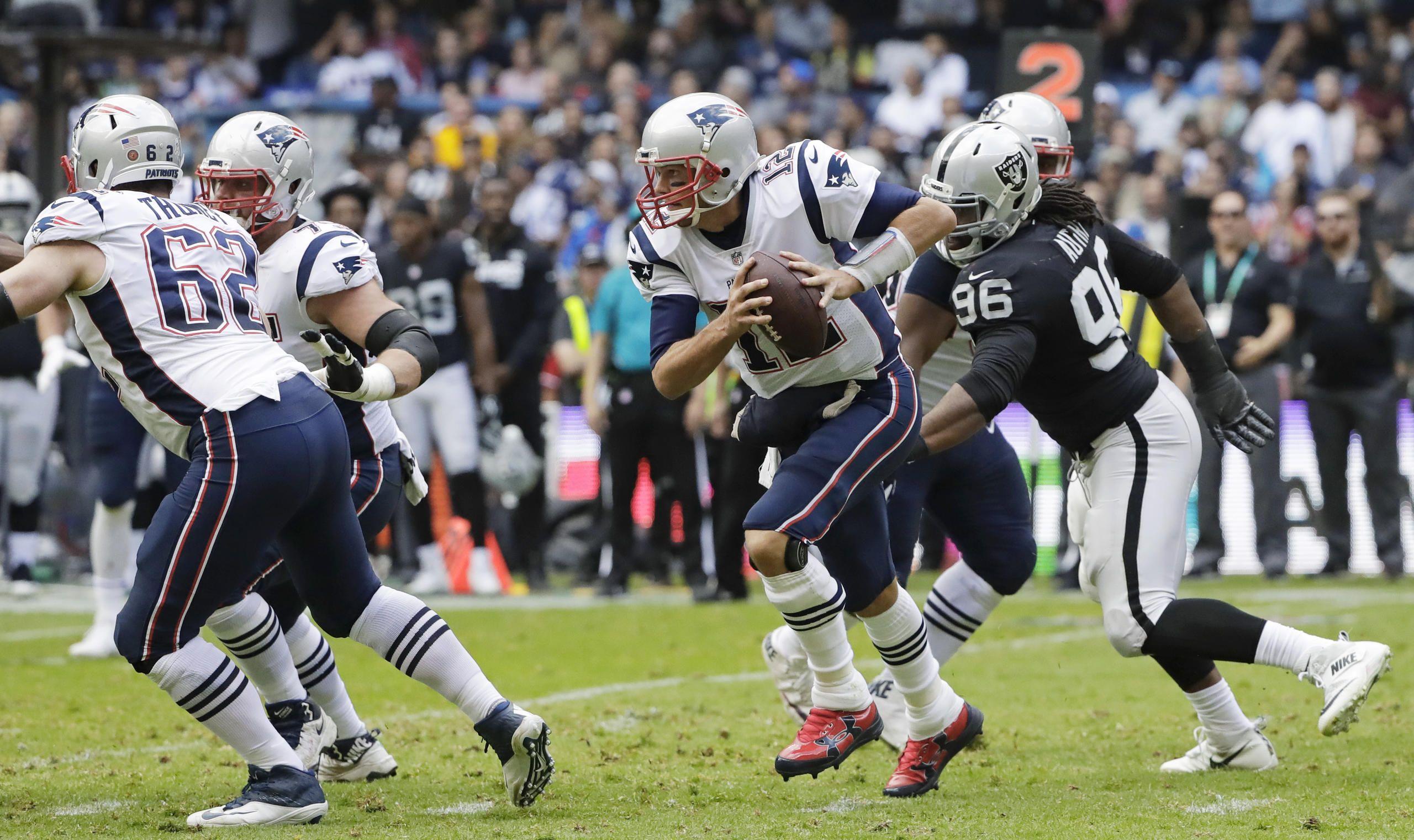 Patriots Vs Raiders Week 11 Patriots New England Patriots Raiders