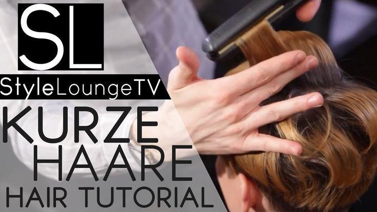 Hair Tutorial: Quick & Easy Style Hair - Style Short Hair ...