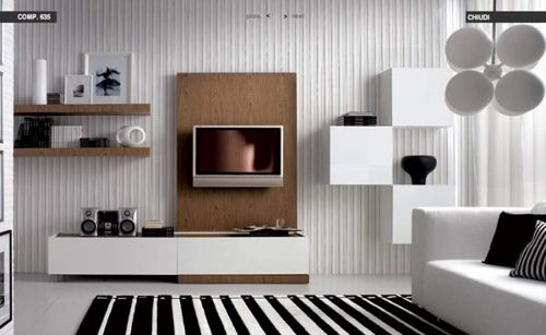 I Like The Modern Living Room Design With Tv Flat Screen