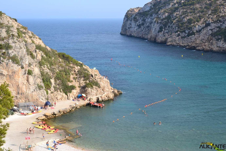 Kayak Cala Granadella Javea Viajes España Alicante