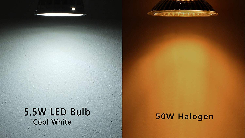 5W 3000K 230V 360Lm GU10 LED Strahler//Spot 120° warm-weiß
