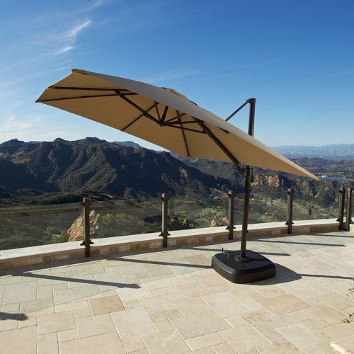 Portofino 10ft Resort Umbrella In Heather Beige