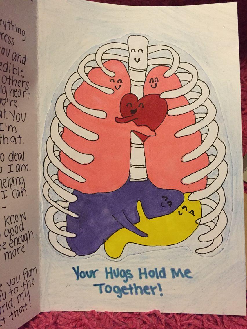 Cute card for the boyfriend ️ love, artwork, colorful ...