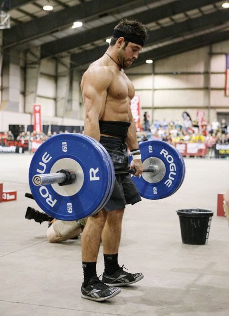 Rich Froning lift crossfit