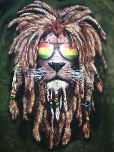 Rasta Lion Jahrastafarai Weed