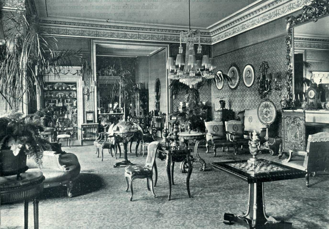 Art And Design Victorian Interiors Victorian Library