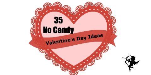 35 No Candy Valentine's Day Ideas #valentines