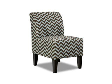 Simmons Chevron Brown Accent Chair At DAWS Home Furnishings In El Paso, TX