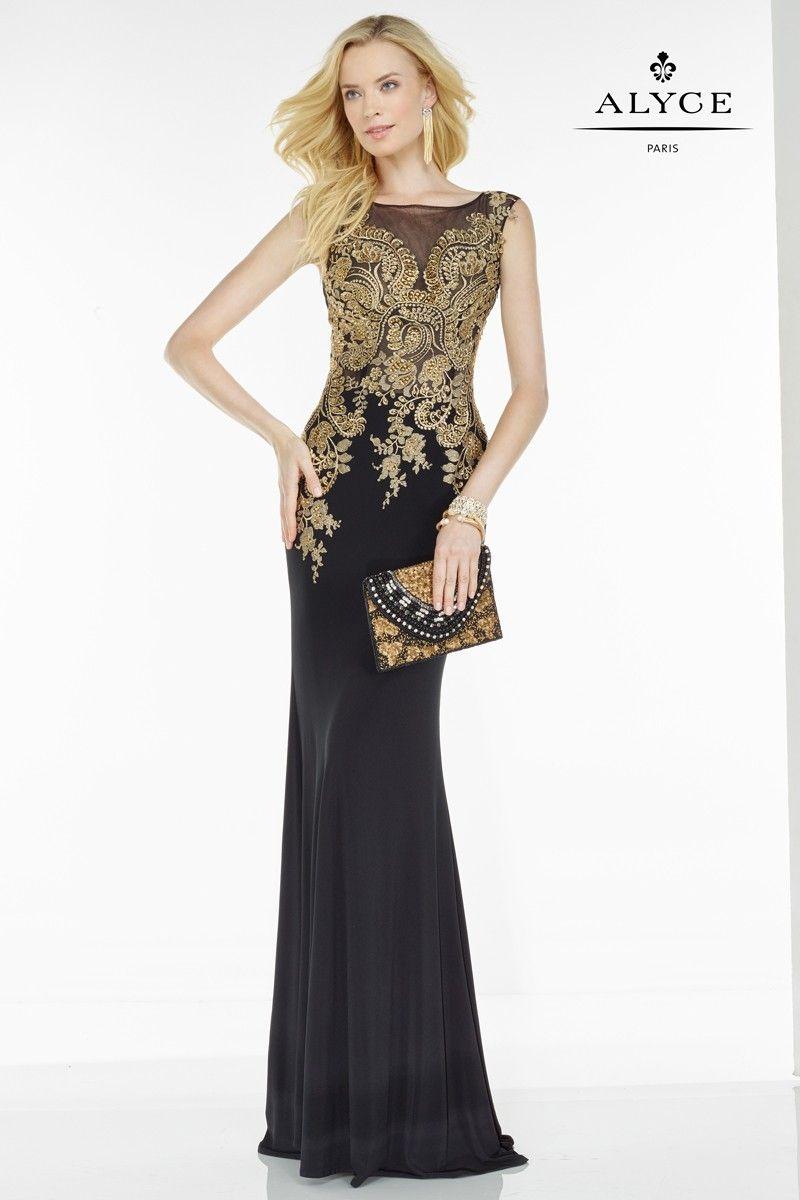 Alyce paris black label dress pinterest full length skirts