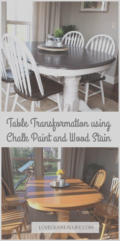 Photo of 12 Stunning How to Paint A Kitchen Table and Chairs Images -…