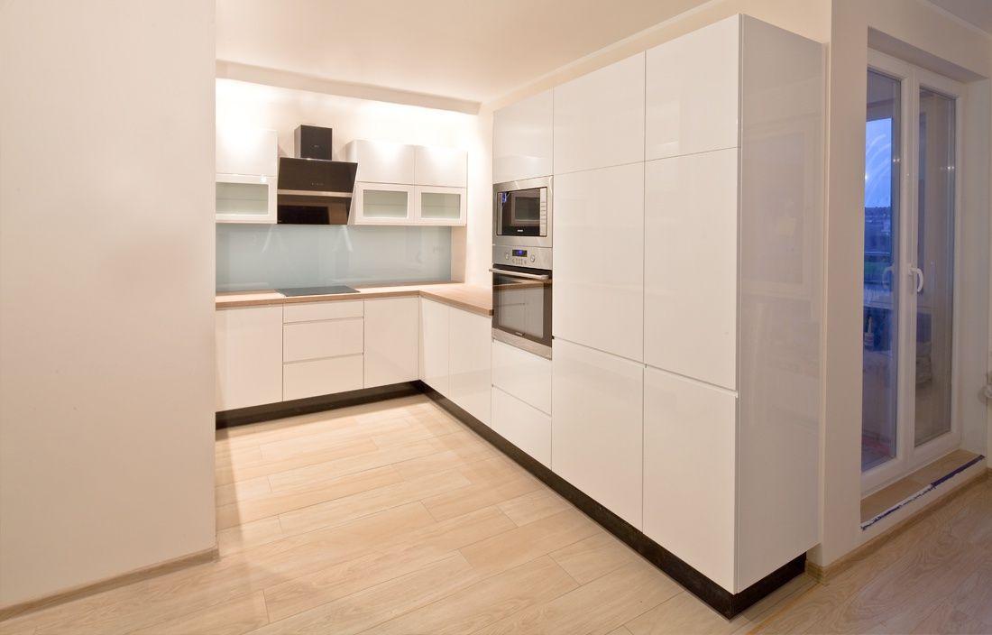 Nowoczesna Biala Kuchnia Szczecin Darex Kitchen Kitchen Cabinets Room Design