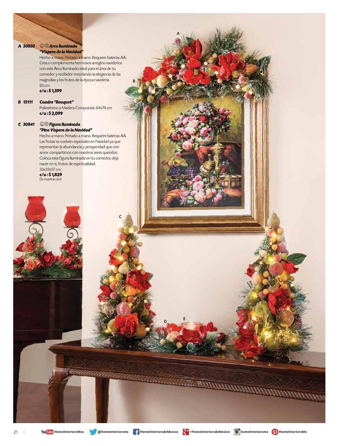 Home Interiors de Mxico - Navidad 2015 | VIDRI | Pinterest