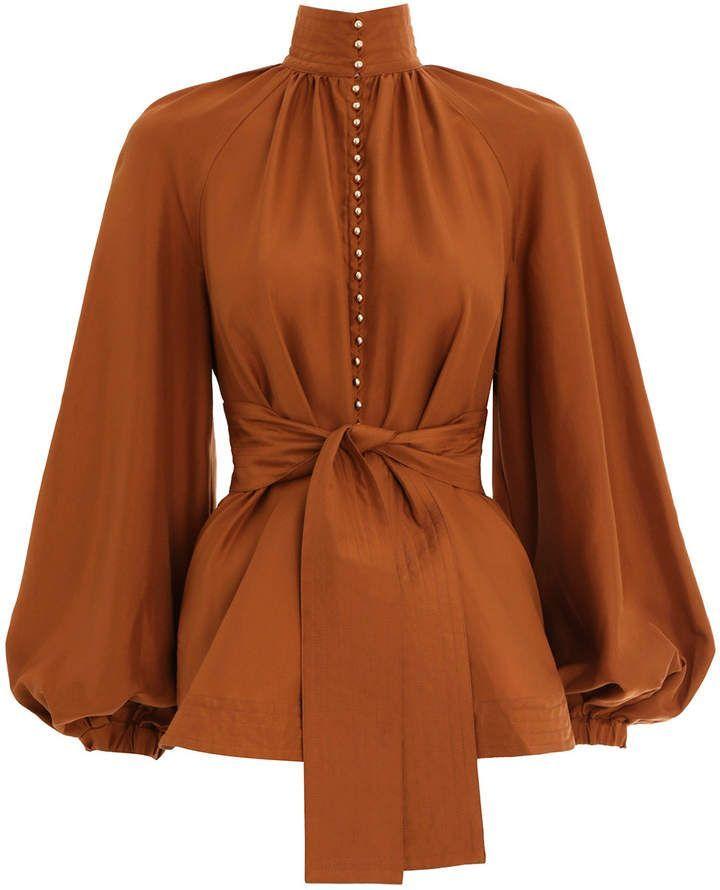 Zimmermann Sechsundneunzig Wogenhemd   – Fashion Outfits for Work
