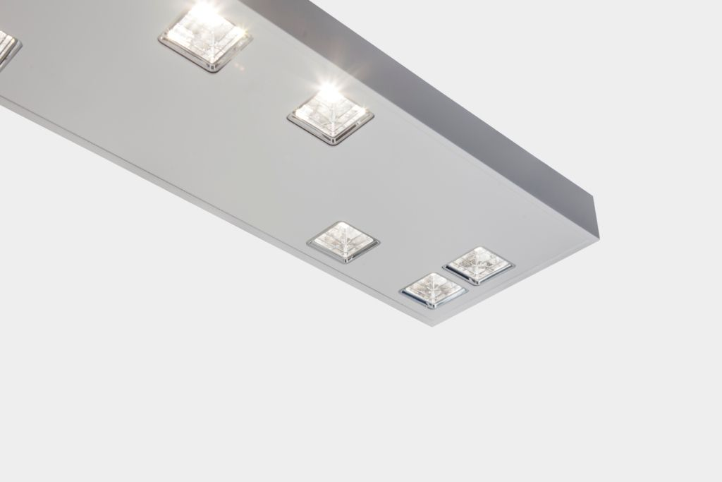 Quadratische Reflektoren, smart fixture - hatec Gesellschaft für Lichttechnik mbH