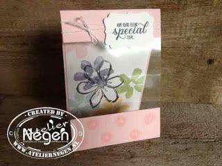 Stampin' Up! - Windowsheet, Garden in Bloom  stamp set - Created by Atelier Negen - www.laulijn.nl