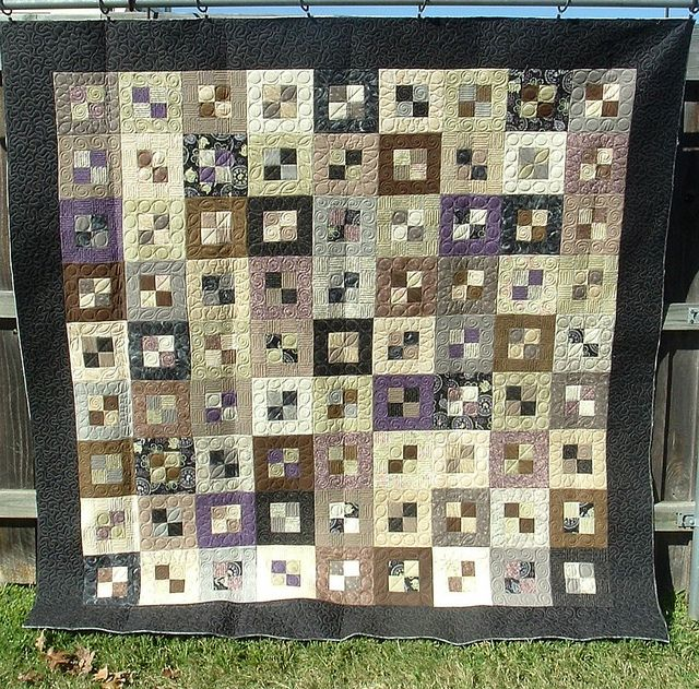 MUTED JELLYROLL - Made by Jo Ann McArthur - quilted by DLQ by DLQuilts, via Flickr