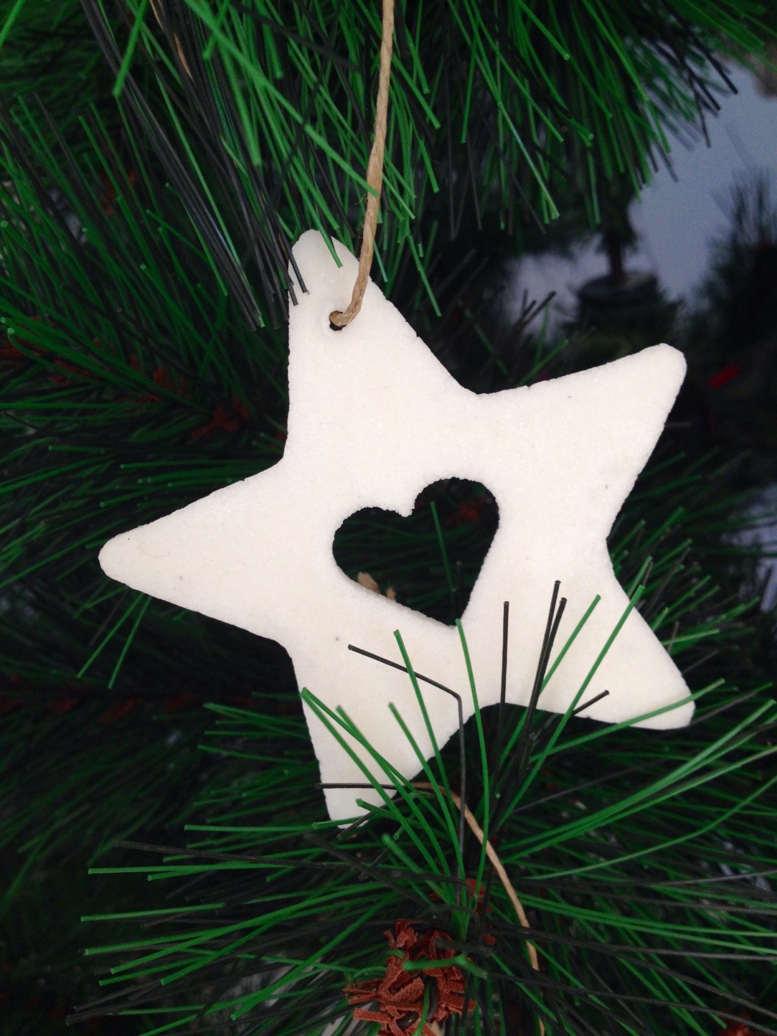 Decoration de Noël en pâte à sel