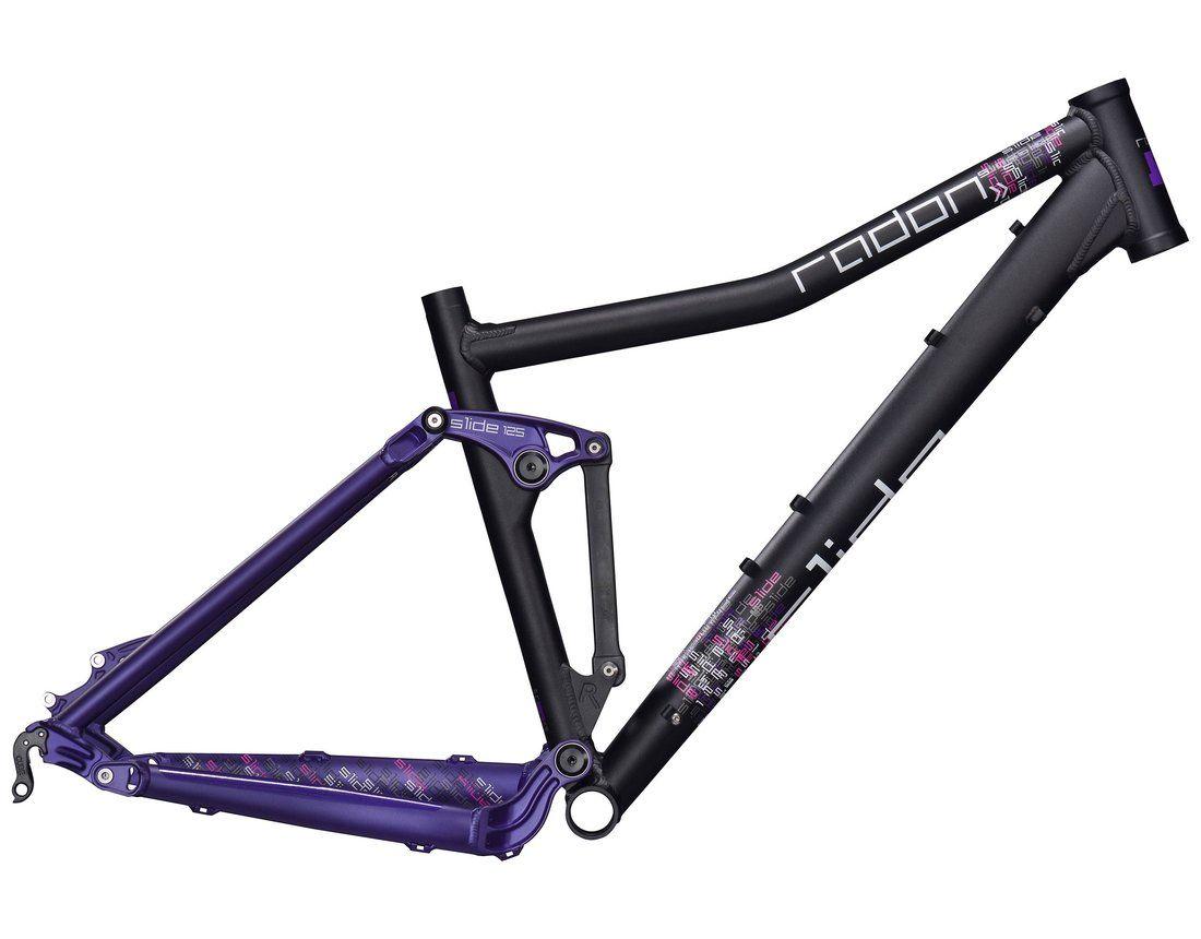Radon Slide Diva 125 26 Frame black purple white from the