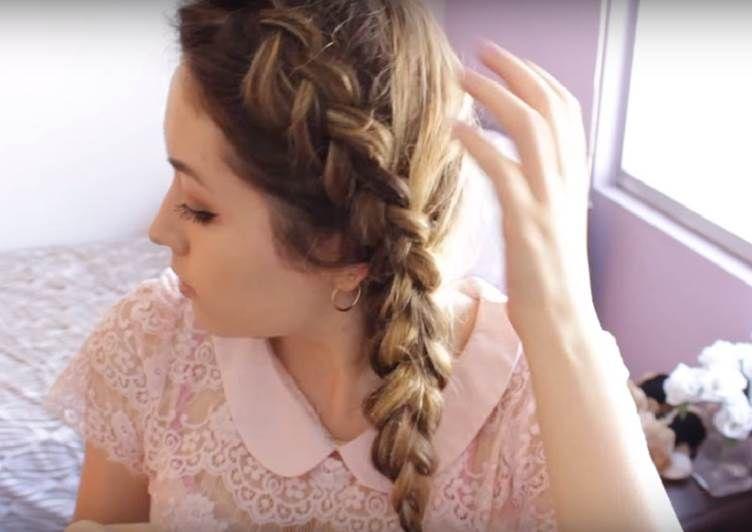 Bonito y cómodo peinados para el colegio Imagen de ideas de color de pelo - Peinados para la Escuela y Colegio Fáciles de hacer (avec ...