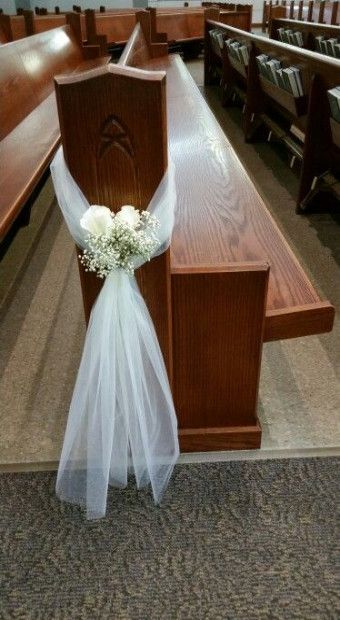 Photo of New wedding simple decorations church pews 49 ideas