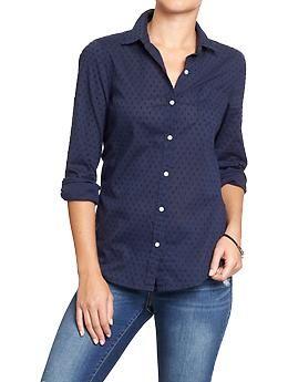 Navy Womens Shirt Custom Shirt