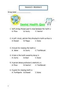 Worksheet Dental Hygiene Worksheets 1000 images about hygiene on pinterest salud dental and brushes