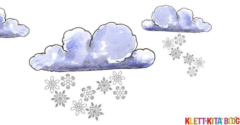 Der Winter hat keine Lust – Vorlesegeschichte & Bastelangebot #winterbastelnkinder