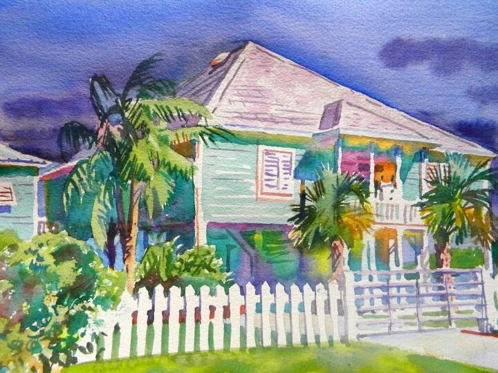Gulf Coast Canvas Art Painting