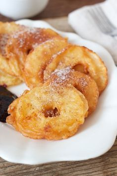 Photo of Baked apple rings with cinnamon sugar – sweets & lifestyle