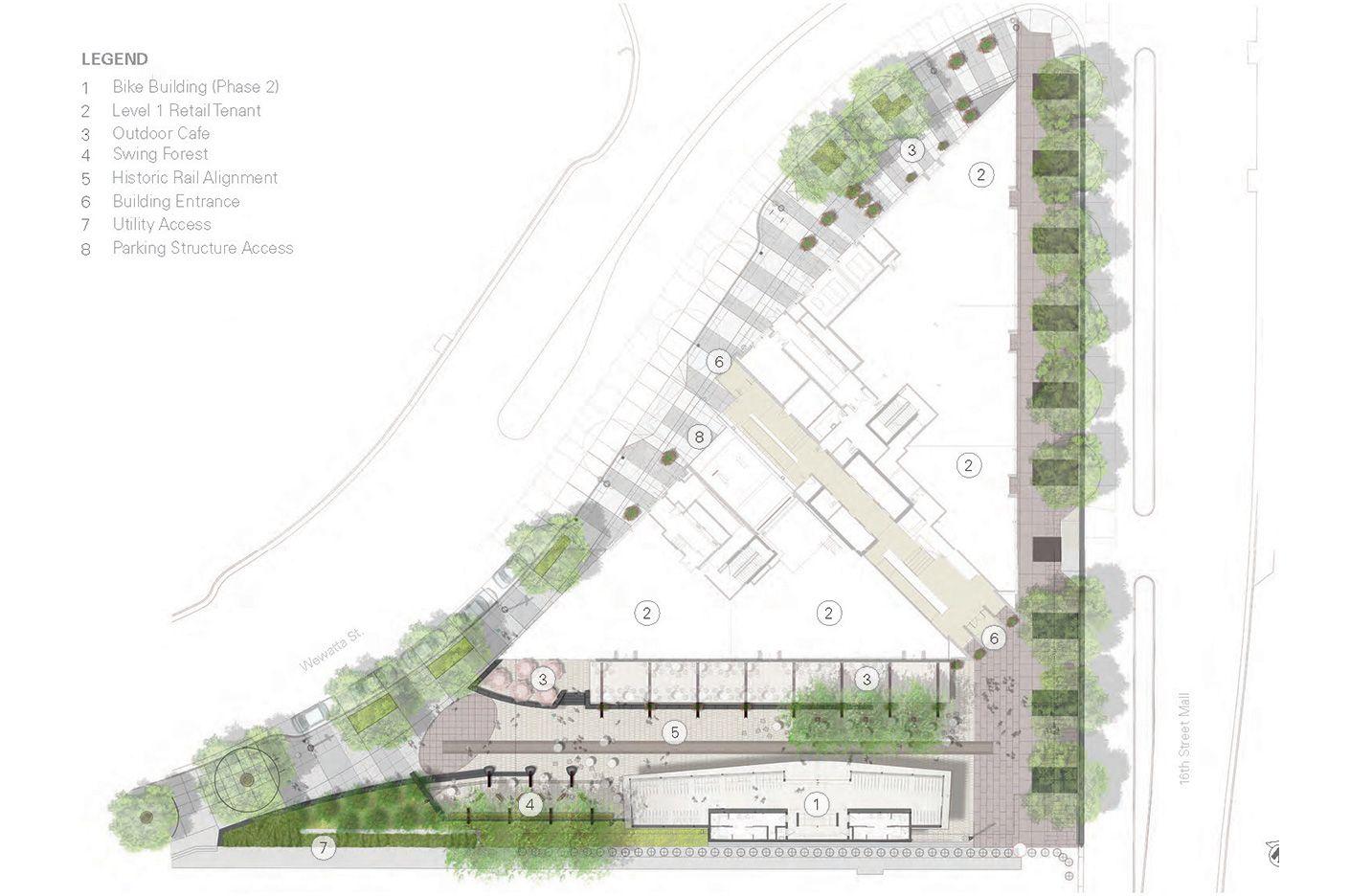 Triangle Plaza, Denver, Colorado Urban planning