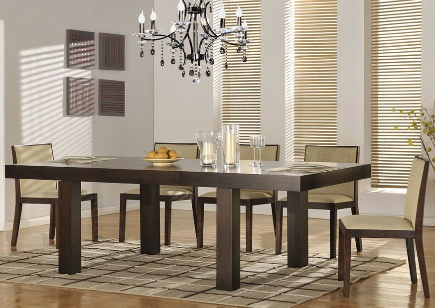 Resolve Contemporary Dining Set in 2019  Modern Dining