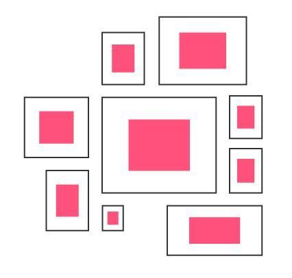 Bilder aufhängen - Die richtige Anordnung | Photo wall, Gallery wall ...
