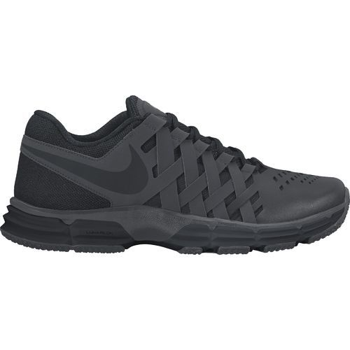 Nike Men's Lunar Fingertrap TR Training Shoes (Charcoal/Black, Size 8.5) - Men's Training Shoes at Academy Sports