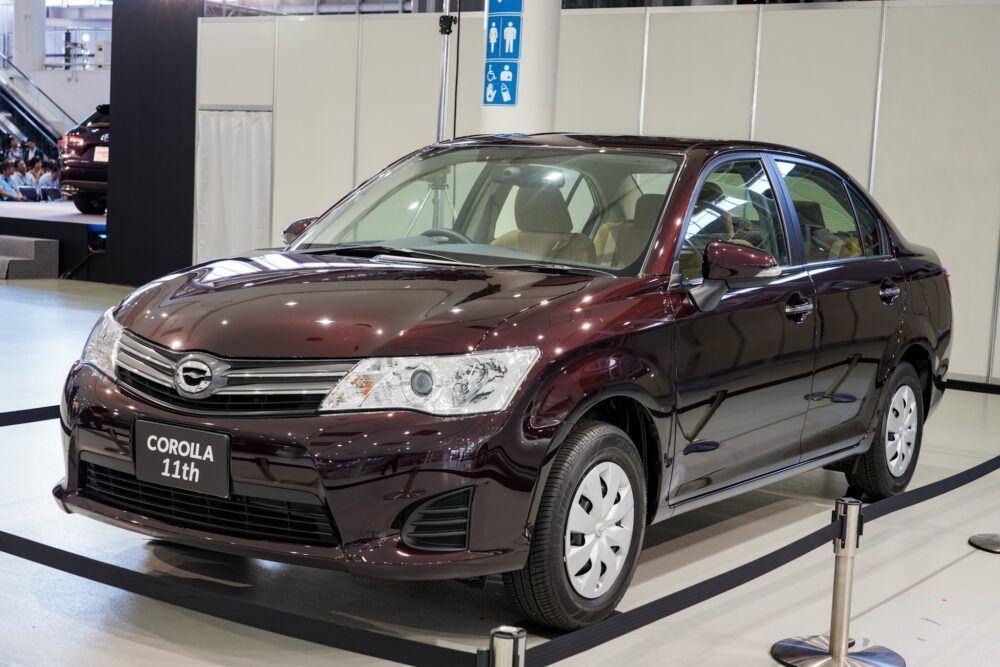 トヨタ カローラ アクシオ 160系 合言葉はreborn ジャストサイズへの回帰 トヨタカローラ カローラアクシオ トヨタ