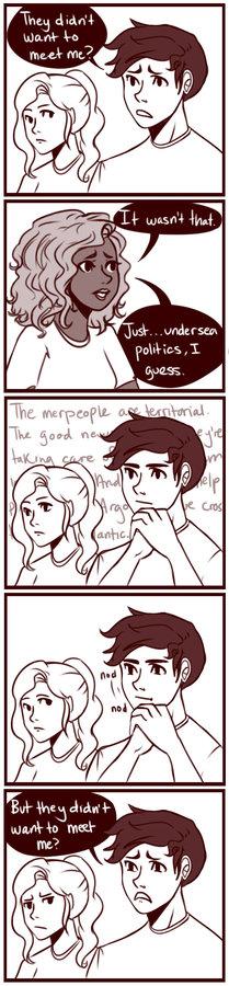 MoA: Percy's not feeling the love by *cookiekween on deviantART