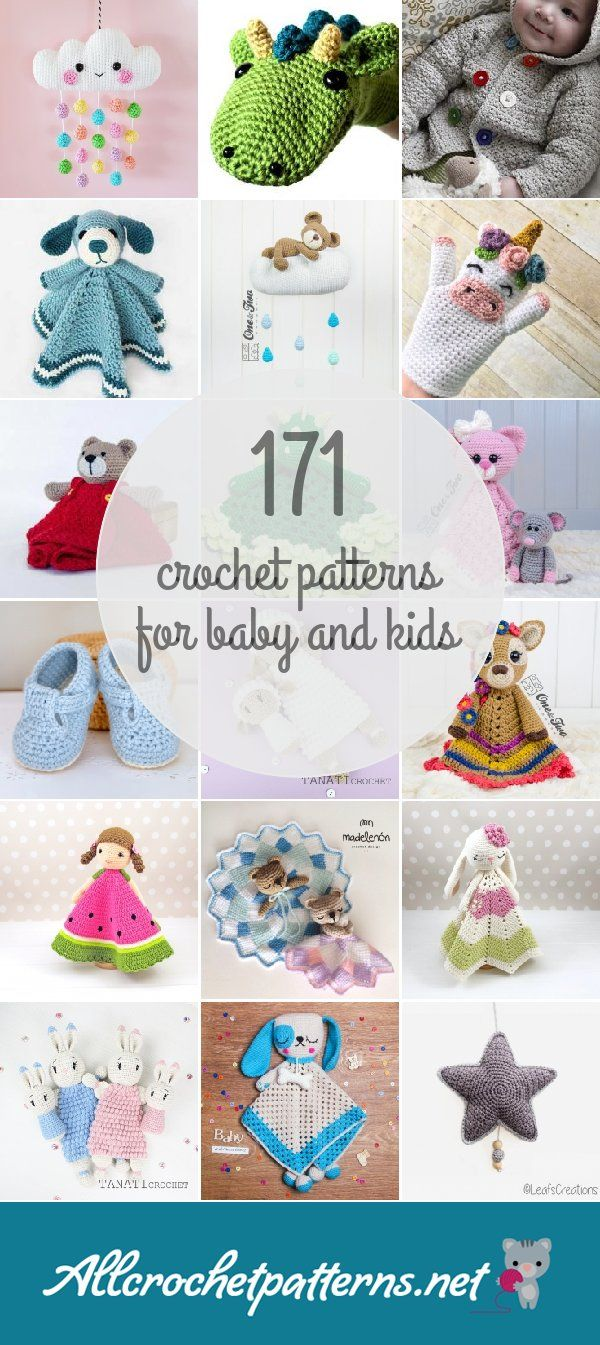 Crochet Patterns For Baby And Kids | Crochet | Pinterest | Ganchillo ...