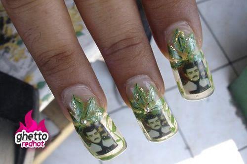 Weed Nails Nails Pinterest