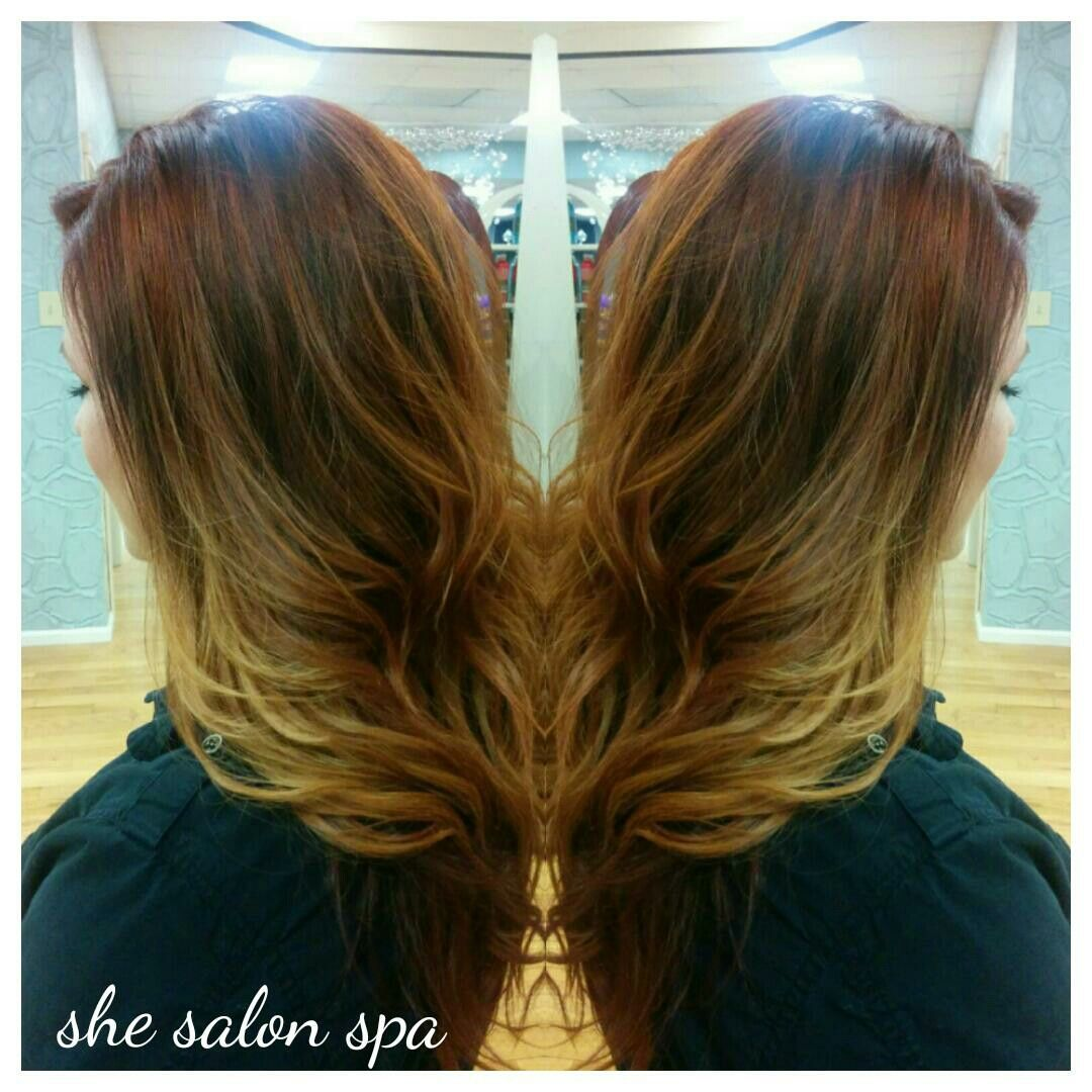 Balayage hair color ginapede hair and such pinterest colours