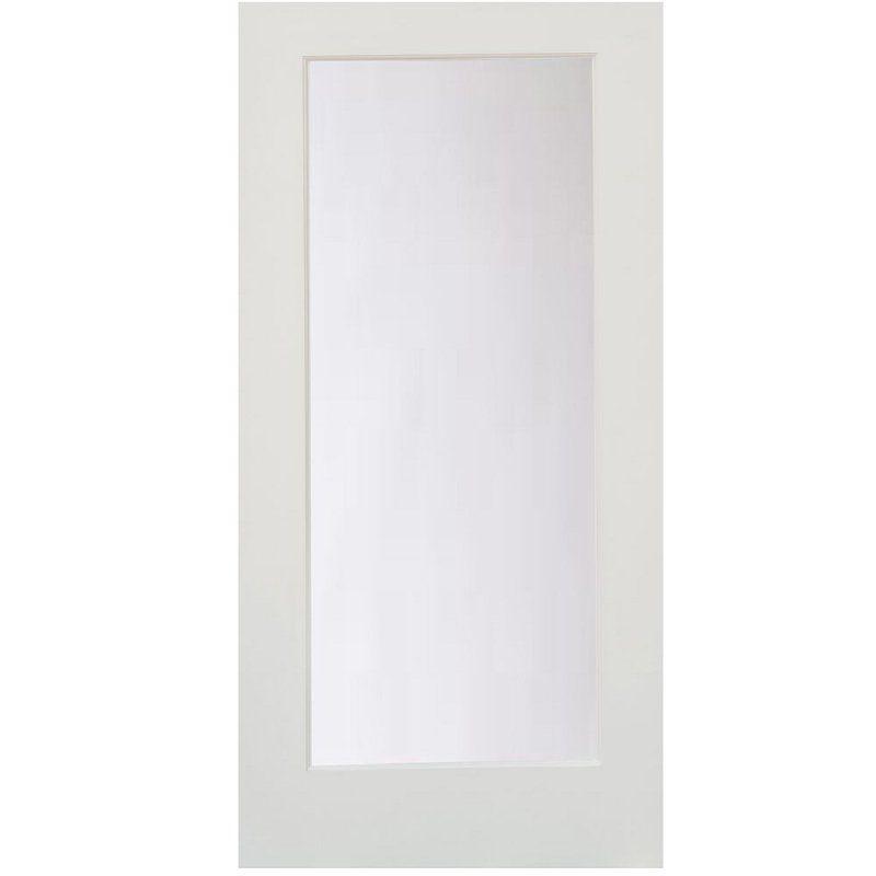Satin Etch Glass One Lite Slab Door Glass Barn Doors Slab Door Glass French Doors
