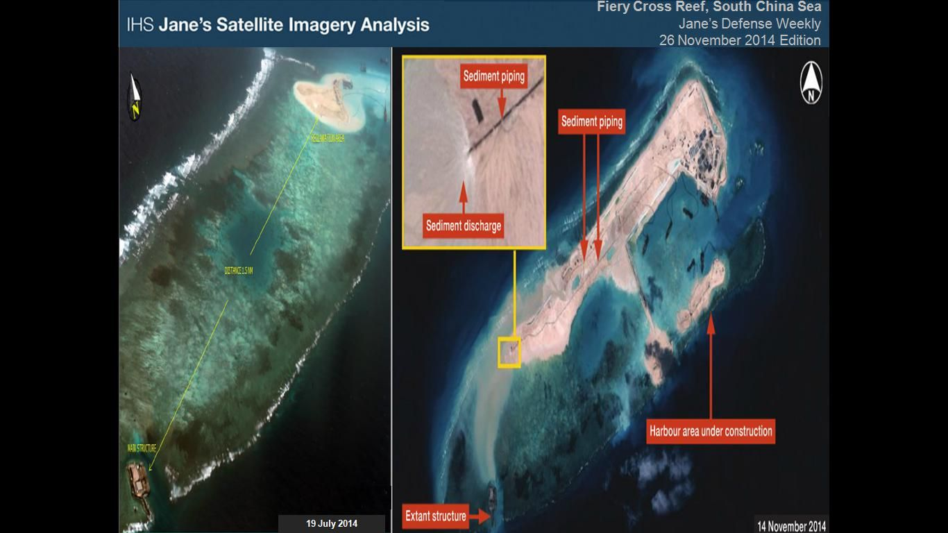Nat'l scientist warns of reef destruction from China's ...