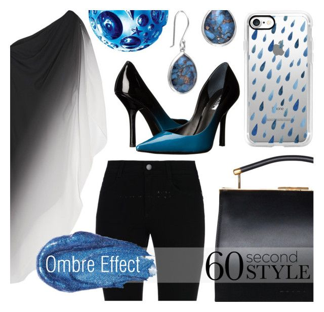 """Ombre Effect"" by tara-omar ❤ liked on Polyvore featuring Halston Heritage, STELLA McCARTNEY, Casetify, GUESS, BillyTheTree, Thierry Mugler, Urban Decay, ombre and 60secondstyle"