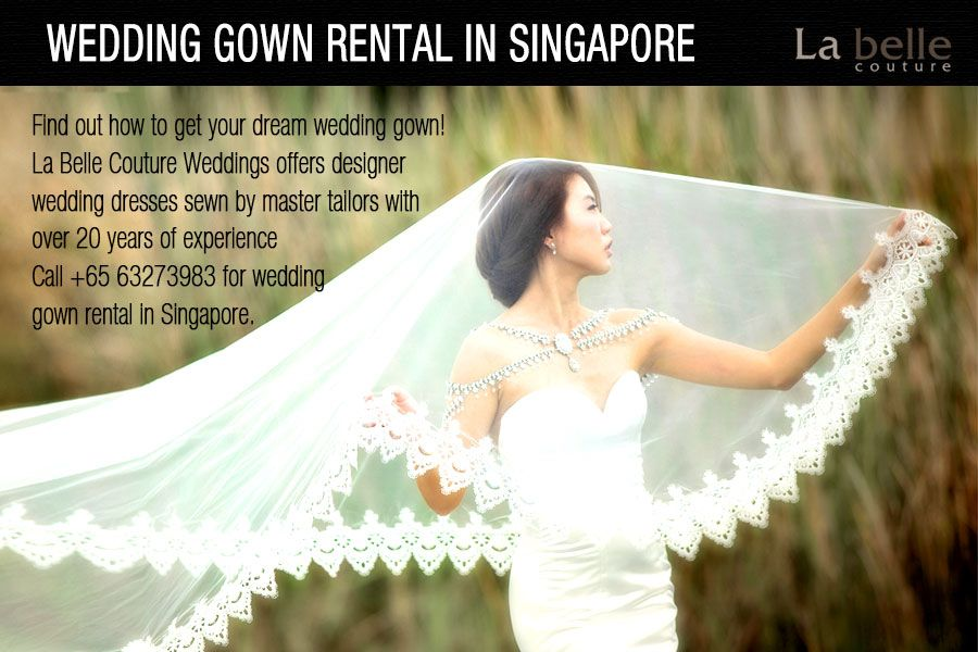 Wedding Gown Rental in Singapore - Find out how to get your dream ...