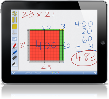 Free Educational Math Apps: Number Rack, Geoboard, Number Pieces Basic, Geometry Pad + More!   Free Homeschool Deals ©