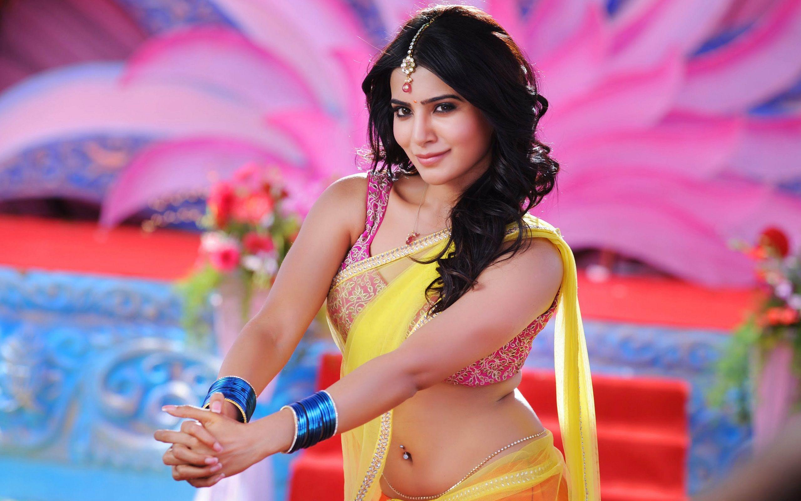 Samantha Tamil Actress Wallpaper Hd 1080p Wallpaper Background Samantha In Saree Samantha Pics Samantha Images