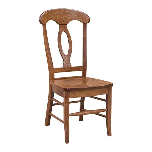 This Chair Is Often Called The Napoleon Chair Because The Shape Of The Back  Crown Is