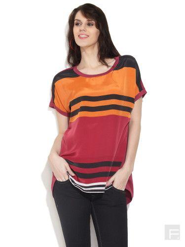 remanika // Change Your Stripes Tee  @shopFashinara