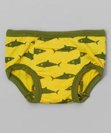 Look at this #zulilyfind! Lemon Shark Training Pants - Toddler by KicKee Pants #zulilyfinds