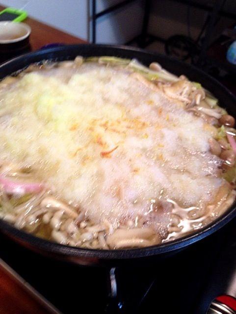 最強寒波到来との事で、あったかみぞれ鍋。さっぱりヘルシーで身体が温まりました♪ - 9件のもぐもぐ - みぞれ鍋 by cookingsan