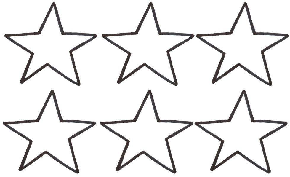 Large Star Template Printable Cliparts Co With Images Star