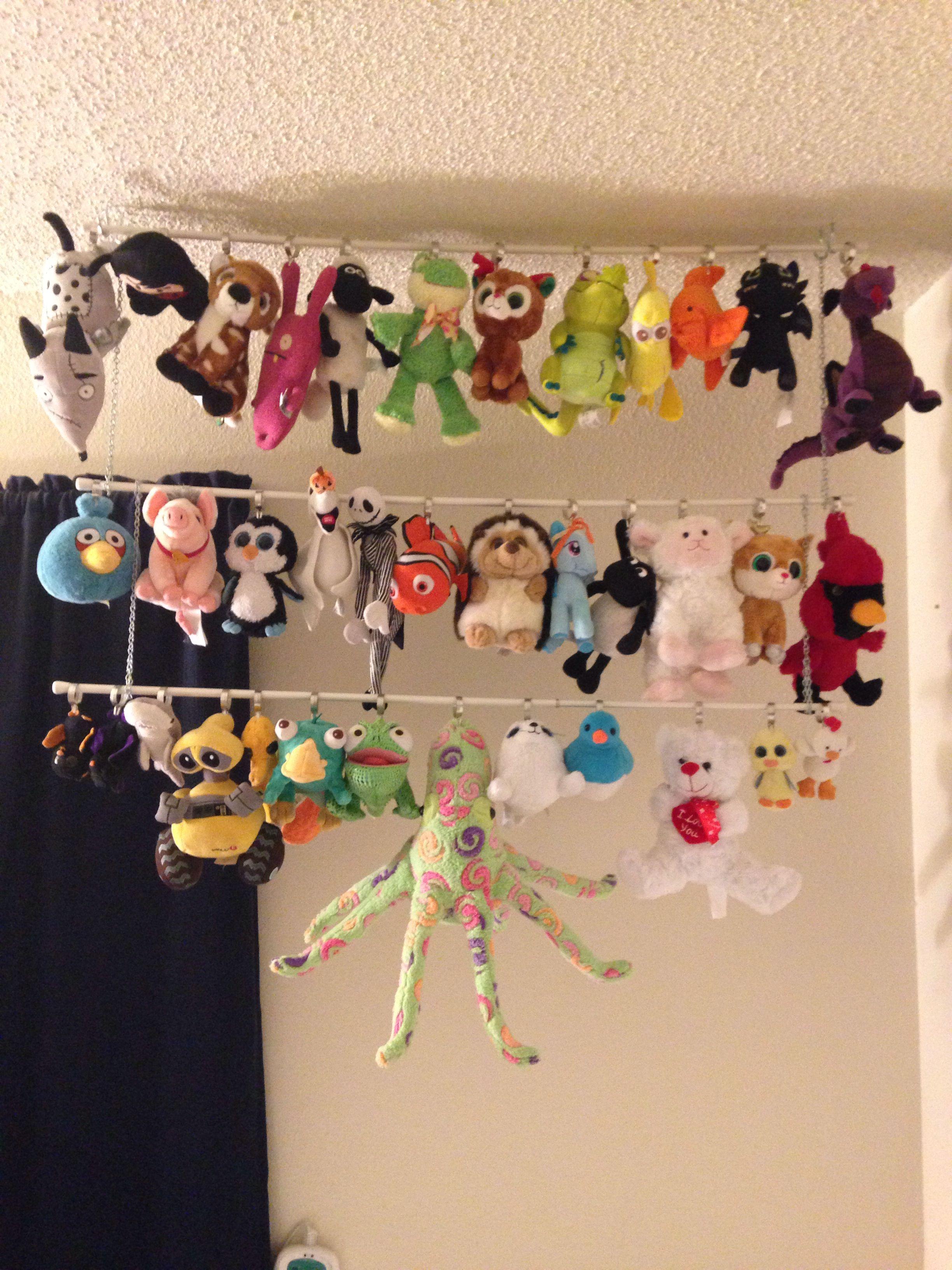 Stuffed Animal Wall Display Stuffed Animal Displays Wall